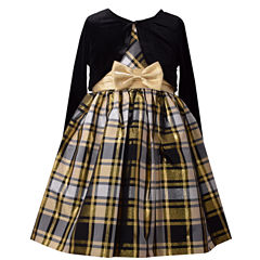 Bonnie Jean Sleeveless Dress Set - Preschool Girls