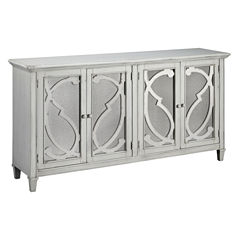 Signature Design by Ashley® Mirimyn Accent Cabinet with Mirrored Doors