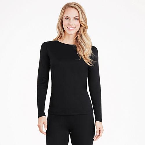 Cuddl Duds® Climatesmart® Long-Sleeve Crewneck Shirt - Petite