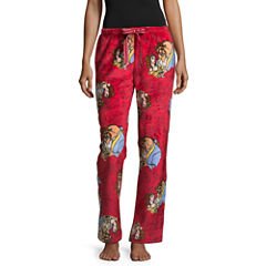 Disney Beauty and the Beast Plush Pajama Pant