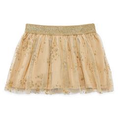 Okie Dokie Knit Full Skirt - Toddler Girls