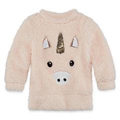 Total Girl Short Sleeve Sweatshirt - Preschool Girls
