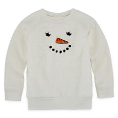 Okie Dokie Long Sleeve Sweatshirt - Preschool Girls