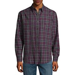 St. John's Bay Long Sleeve Flannel Shirt