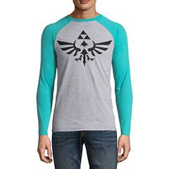 Zelda Logo LS Raglan