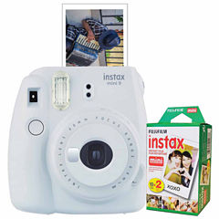 Fujifilm Instax Mini 9 Instant Photo Camera Bundle