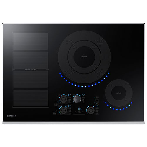 Samsung 30 Induction Cooktop with 4 Elements and Virtual Flame™