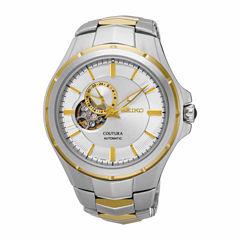 Seiko Mens Two Tone Bracelet Watch-Ssa314