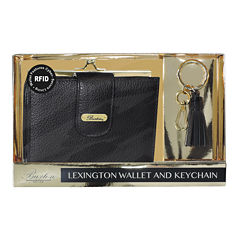 Buxton Lexingtion Rfid Key Fob Wallet Set RFID Blocking Clutch Wallet