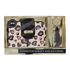 Buxton Lexingtion Rfid Key Fob RFID Blocking Clutch Wallet