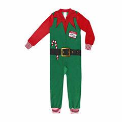North Pole Trading Co. Elf One Piece Pajama- Big Kid
