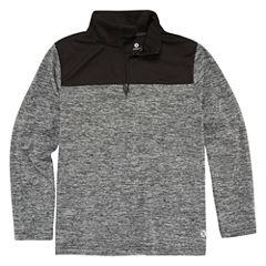 Xersion Long Sleeve Mock Neck T-Shirt-Preschool Boys