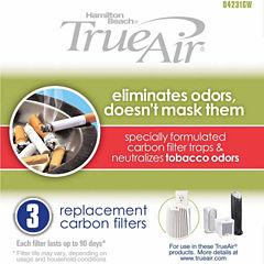Hamilton Beach True Air Replacement Carbon Filter 3 Pack