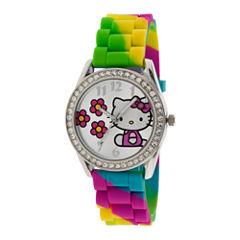 Rainbow Crystal-Accent Watch