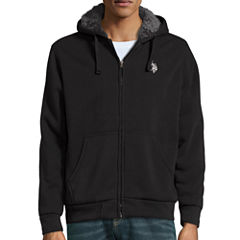 U.S. Polo Assn.® Long-Sleeve Full-Zip Sherpa Hoodie