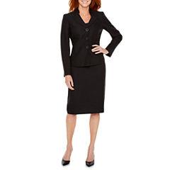 Le Suit Jacquard Skirt Suit
