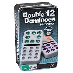 Cardinal Double Twelve Color Dot Dominoes