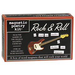 Magnetic Poetry Magnetic Poetry Kit: Rock & Roll