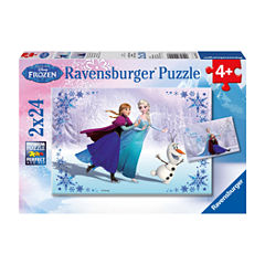Ravensburger Disney Frozen - Sisters Always: 2x24Pcs