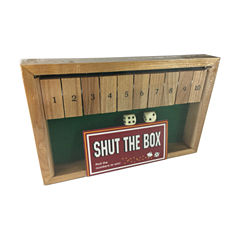 Square Root Shut the Box #1 - 10 Game