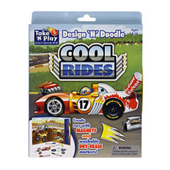 PlayMonster Design 'N' Doodle - Cool Rides