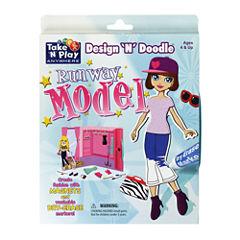 PlayMonster Design 'N' Doodle - Runway Model