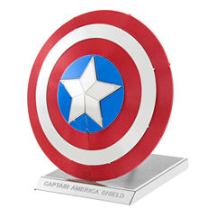 Fascinations Metal Earth 3D Laser Cut Model - Marvel Avengers Captain America's Shield