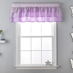 Frank And Lulu Amelia Ombre Rod-Pocket Tailored Valance