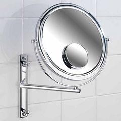 Wenko Cosmetic Wall Mirror With Swivelling Arm, Bivona
