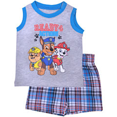 Nickelodeon 2-pc. Paw Patrol Short Set Baby Boys