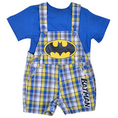 2-pc. Batman Overall Set-Baby Boys