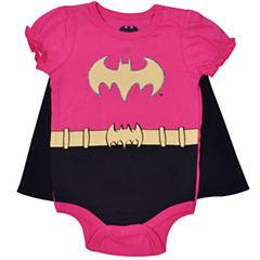 Cape Batgirl Bodysuit - Baby