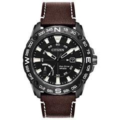 Citizen Mens Brown Bracelet Watch-Aw7045-09e