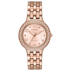 Citizen Womens Pink Bracelet Watch-Fe2083-58q