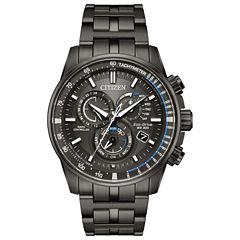 Citizen Mens Gray Bracelet Watch-At4127-52h