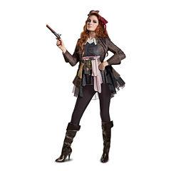 Buyseasons Pirates Of The Caribbean 5 6-pc. Dress Up Costume Womens