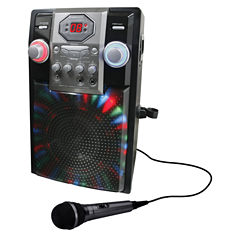 GPX JB185B Bluetooth Karaoke Machine