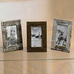 Distressed Wood Tabletop Frame