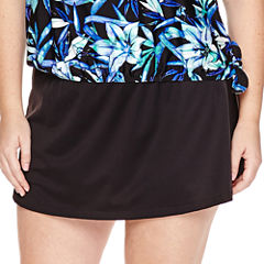 Azul by Maxine of Hollywood Tankini Swimsuit Top-Plus