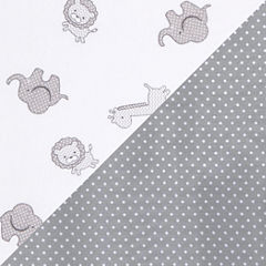 Trend Lab Safari And Dot 2-pc. Animals + Insects Crib Sheet