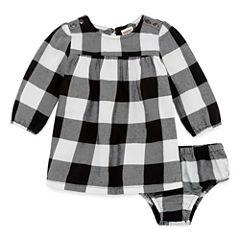 Arizona Long Sleeve A-Line Dress - Baby Girls