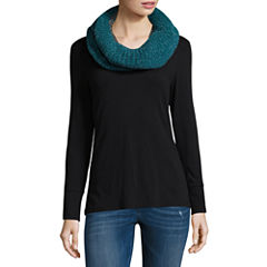 Mixit Knit Infinity Cold Weather Scarf