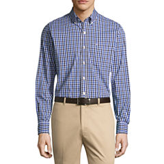 Dockers Long Sleeve Gingham Button-Front Shirt
