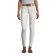 Wallflower Belted Skinny Fit Jean-Juniors