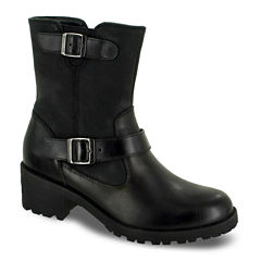 Eastland® Belmont Womens Buckle Leather Boots