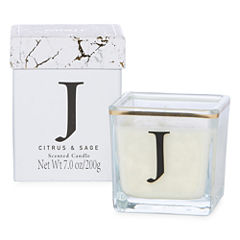 Mixit Initial Jar Candle