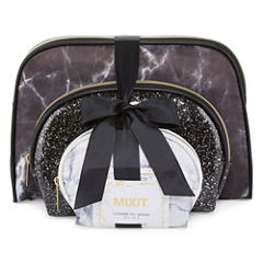 Mixit Black and White Makeup Bag