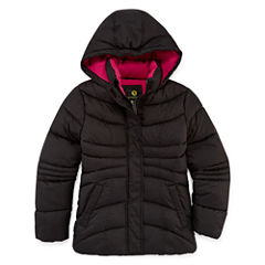 Xersion Heavyweight Puffer Jacket - Girls-Big Kid Plus