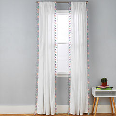 Frank And Lulu Rod-Pocket Curtain Panel
