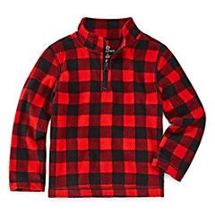 Okie Dokie Long Sleeve Sweatshirt - Toddler Boys